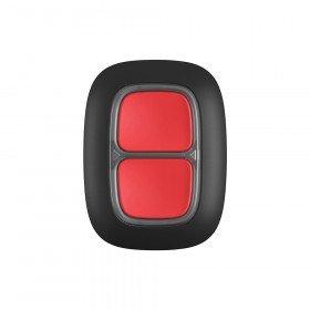 Ajax Double Button - Беспроводная тревожная кнопка для экстренных ситуаций - черная