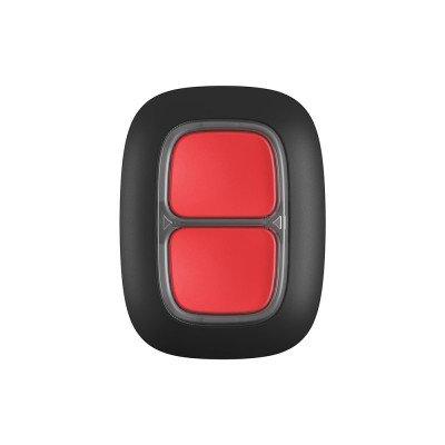Ajax Double Button - Бездротова тривожна кнопка для екстрених ситуацій - чорна