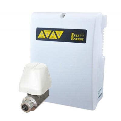 Готове рішення для системи Аякс з кульовим краном Аквасторож CLASSIC-15 + ДБЖ Full Energy BBGP-123