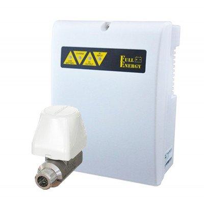 Готовое решение для системы Аякс с  шаровым краном Аквасторож CLASSIC-15 + ИБП Full Energy BBGP-123