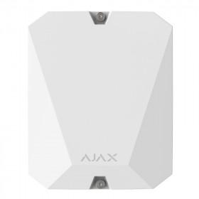 Ajax MultiTransmitter - Модуль інтеграції сторонніх провідних пристроїв - білий
