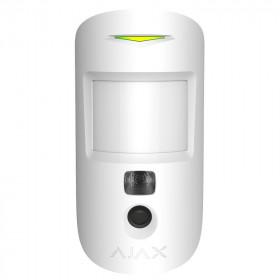Ajax MotionCam – Датчик движения с фотокамерой для верификации тревог – белый