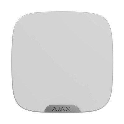 Ajax StreetSiren DoubleDeck – Беспроводная уличная сирена – белая