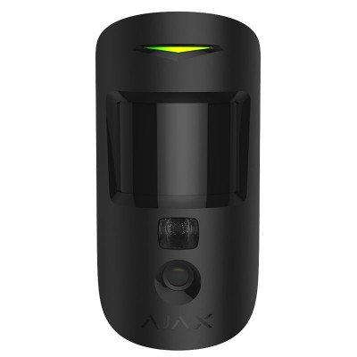 Ajax MotionCam – Датчик движения с фотокамерой для верификации тревог – черный