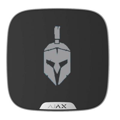 Ajax Brandplate - Лицевая панель для брендирования уличной сирены - черный