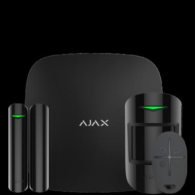 Ajax StarterKit – Комплект беспроводной GSM-сигнализации – черный