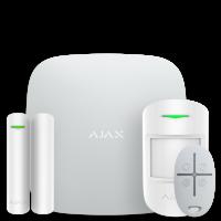 Ajax StarterKit - комплект бездротової GSM-сигналізації - білий