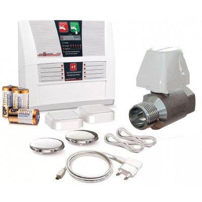 Система контролю протікання води Аквасторож ЕКСПЕРТ Радіо Pro 1*25