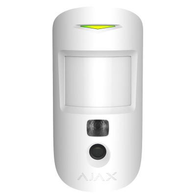 Датчик движения с фотоподтверждением тревог Ajax MotionCam - Белый