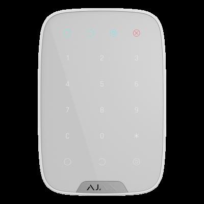 Клавиатуры и брелоки AJAX Ajax KeyPad – Беспроводная клавиатура – белая