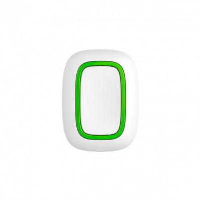 Ajax Button - Беспроводная тревожная кнопка для экстренных ситуаций - белая