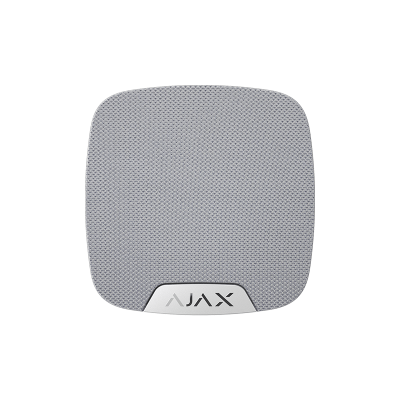 Ajax HomeSiren – Беспроводная домашняя сирена – белая