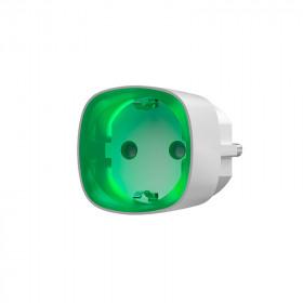 Ajax Socket – Радиоуправляемая розетка со счетчиком энергопотребления – белая