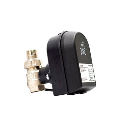 Кран шаровый Honeywell Шаровой кран с электрическим приводом, SPDT, 220В, Ду15 (HAV15)