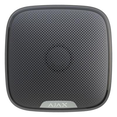 Ajax StreetSiren - бездротова вулична сирена - чорна