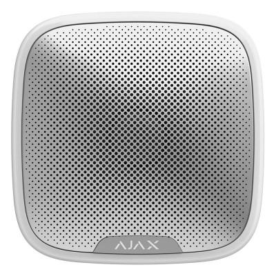 Сирены Ajax Ajax StreetSiren – Беспроводная уличная сирена – белая