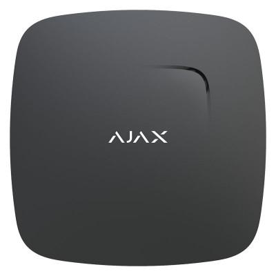 Пожарные датчики Ajax FireProtect – Беспроводной датчик дыма с сенсором температуры – черный