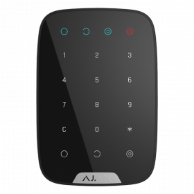 Ajax KeyPad - бездротова клавіатура - чорна