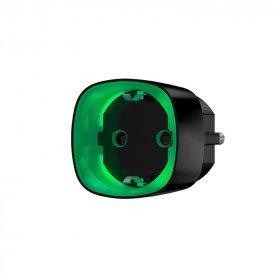Ajax Socket - радіокерована розетка з лічильником енергоспоживання - чорна