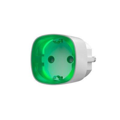 Ajax Socket - радіокерована розетка з лічильником енергоспоживання - біла