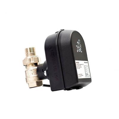 Кран шаровый Honeywell Resideo Шаровой кран с электрическим приводом, SPDT, 220В, Ду15 (HAV15)