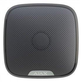 Ajax StreetSiren – Беспроводная уличная сирена – черная