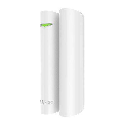 Ajax DoorProtect Plus - бездротовий датчик відкриття з сенсором удару і нахилу - білий