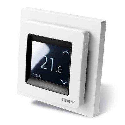 Терморегулятор DEVIreg Touch White